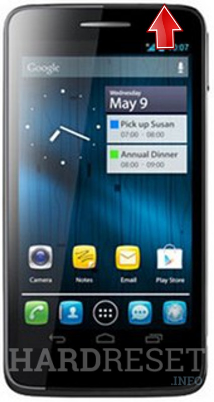 Hard Reset PANASONIC P51