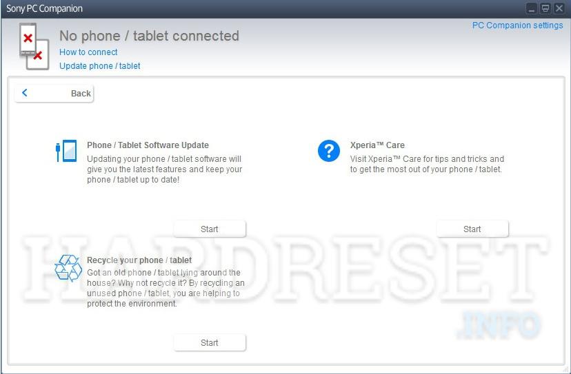 Hard Reset SONY Xperia A SO-04E - HardReset info