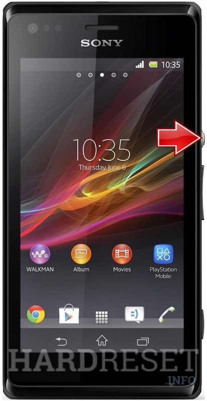 Hard Reset SONY Xperia M Dual C2004
