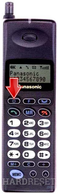 Hard Reset PANASONIC G400