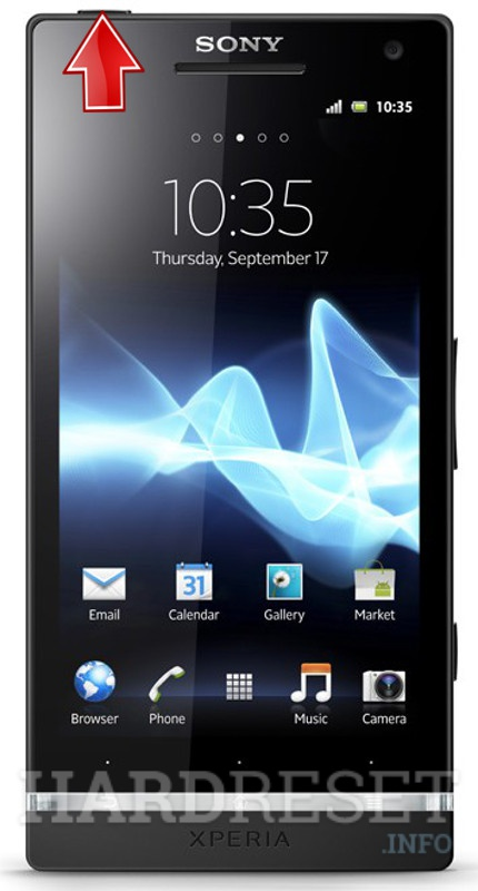 how to hard reset my phone sony xperia s lt26i hardreset info rh hardreset info sony xperia acro s user manual Sony Car Stereo Manuals