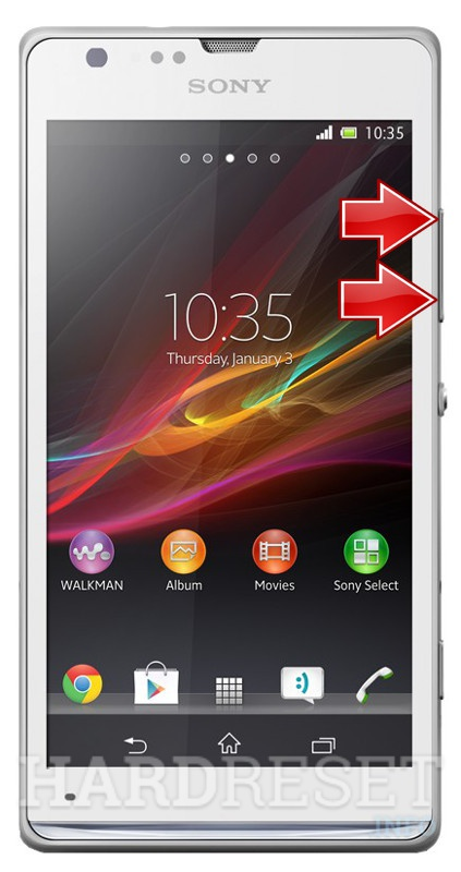 Factory Reset SONY Xperia SP C5303