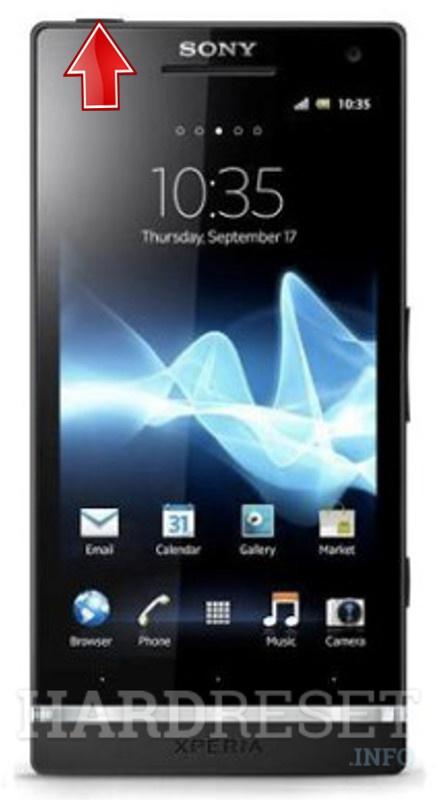 how to hard reset my phone sony xperia sl lt26ii hardreset info rh hardreset info Sony Ericsson Xperia Sony Xperia Ion