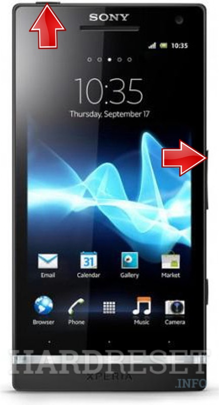 Factory Reset SONY Xperia NX SO-02D