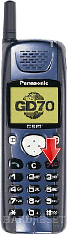 Hard Reset PANASONIC GD70