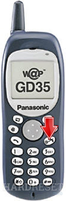 Hard Reset PANASONIC GD35