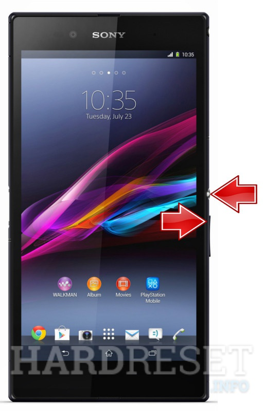 Factory Reset SONY Xperia Z1 Compact D5503