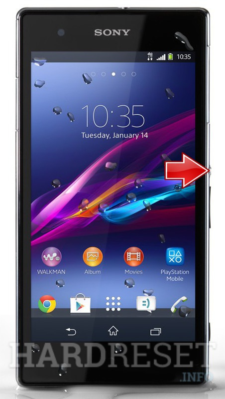 single- and sony xperia z hard reset button video these are