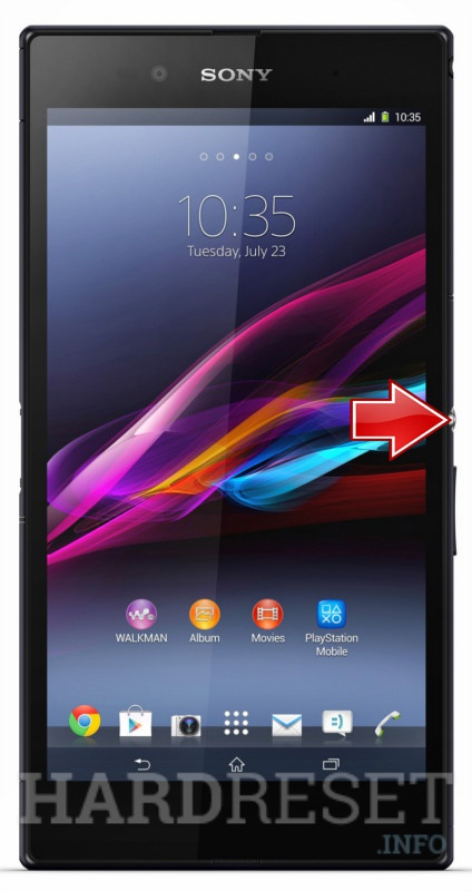 Hard Reset SONY Xperia Z1 Compact D5503
