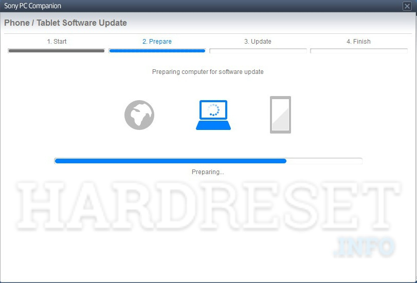 Restore SONY Xperia Tablet Z LTE SGP321