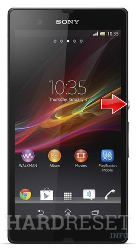 Hard Reset SONY Xperia Z C6603   dk hard reset android phones