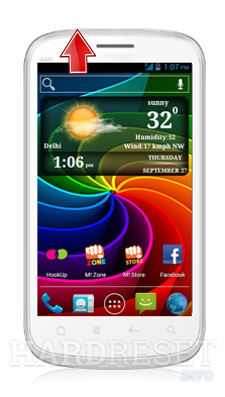 Hard Reset MICROMAX A65