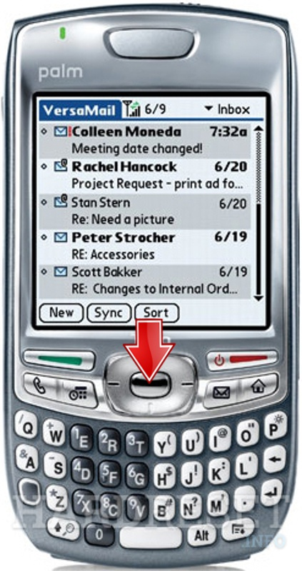 Factory Reset PALM Treo 680