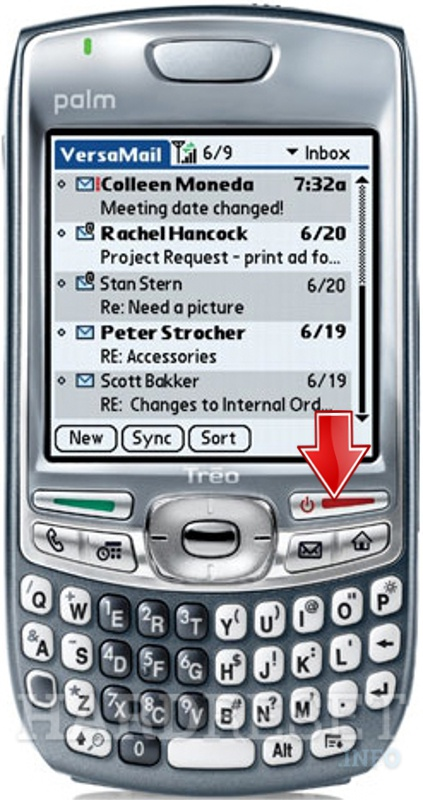 Hard Reset PALM Treo 680