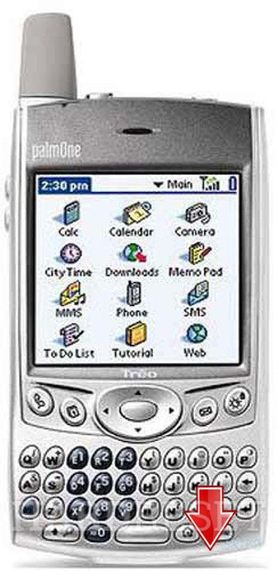 Factory Reset PALM Treo 600