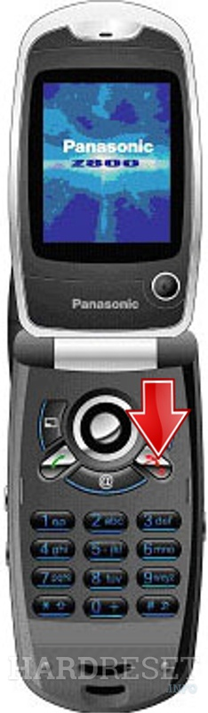 Hard Reset PANASONIC Z800