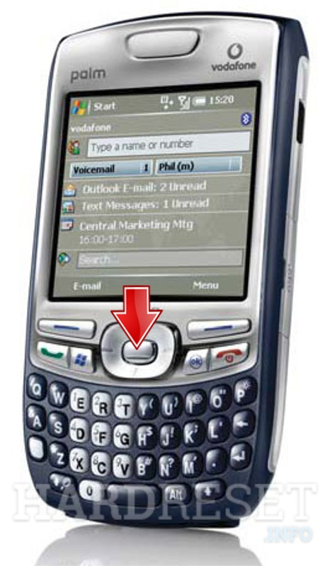 Factory Reset PALM Treo 750v (HTV Cheetah)