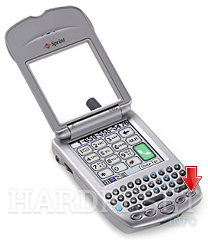 palm treo how to reset
