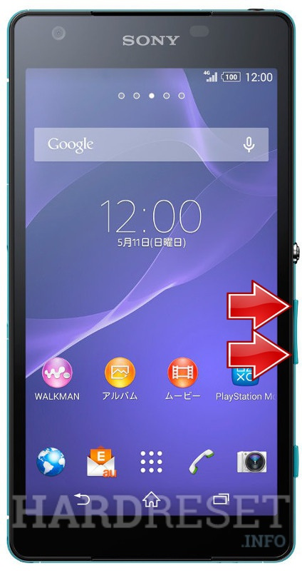 Factory Reset SONY Xperia ZL2 SOL25