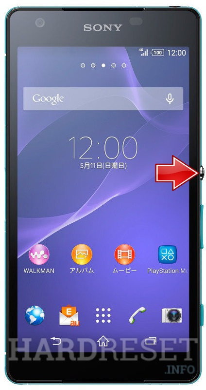 Hard Reset SONY Xperia ZL2 SOL25
