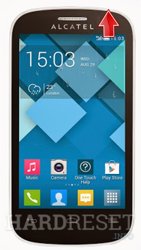 Hard Reset ALCATEL 4033A One Touch POP C3