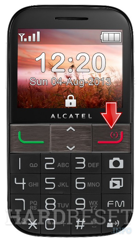 Hard Reset ALCATEL 20.01