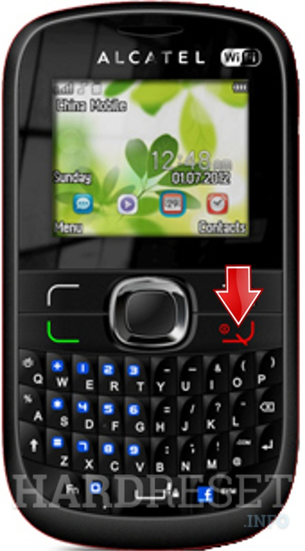 Hard Reset ALCATEL One Touch 639