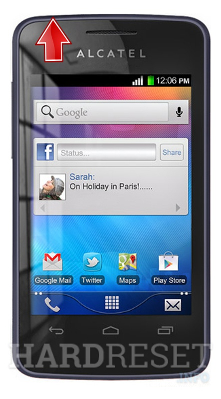 Hard Reset ALCATEL 4010X One Touch T'Pop
