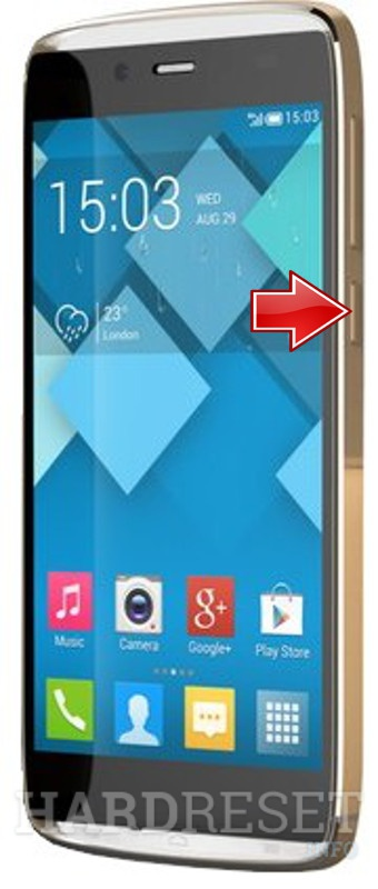 Hard Reset ALCATEL Idol Alpha