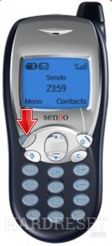 Remove screen password on SENDO S230