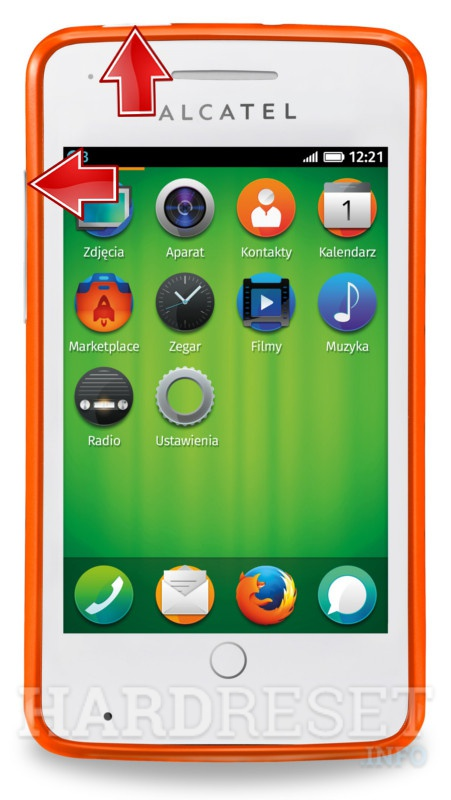 Master Reset ALCATEL OT-4012A One Touch Fire