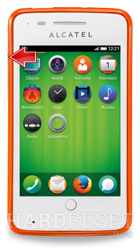 Factory Reset ALCATEL OT-4012A One Touch Fire