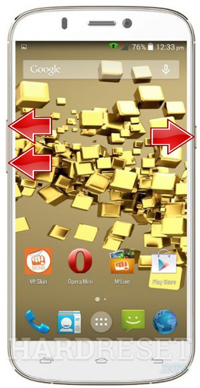 Master Reset MICROMAX A300 Canvas Gold