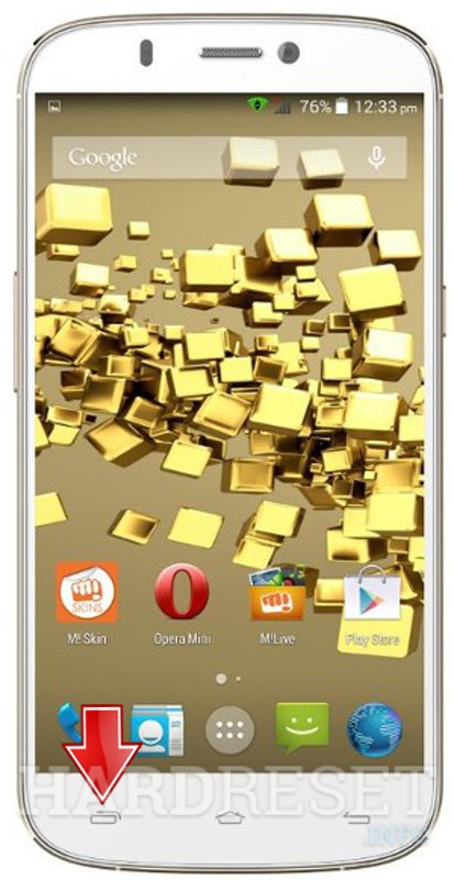 Wipe data MICROMAX A300 Canvas Gold