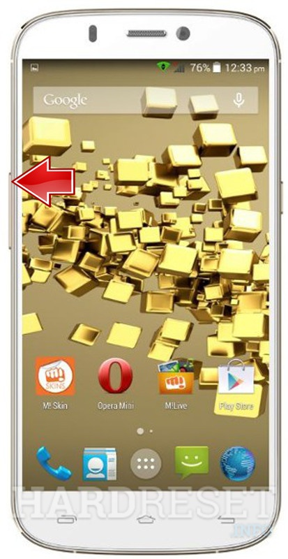 Factory Reset MICROMAX A300 Canvas Gold