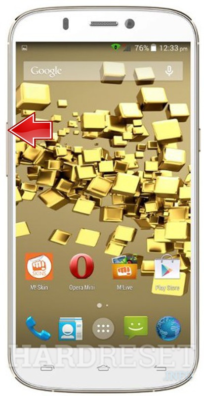 Remove screen password MICROMAX A300 Canvas Gold