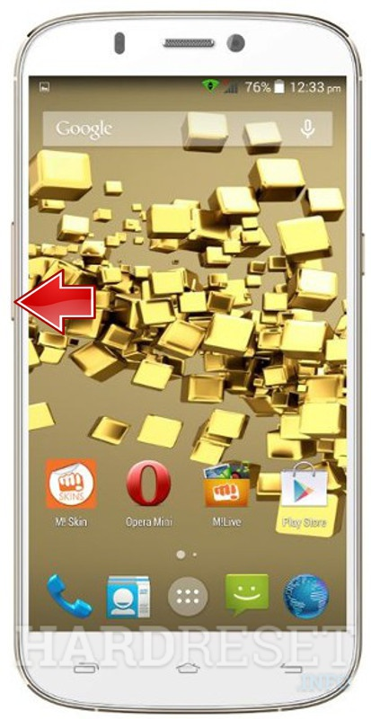 Restore MICROMAX A300 Canvas Gold