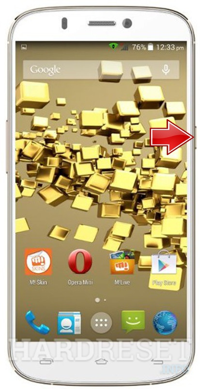Hard Reset MICROMAX A300 Canvas Gold