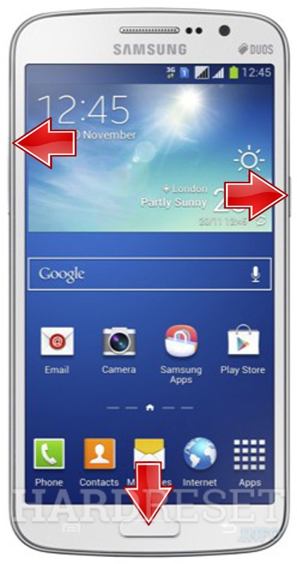 HardReset SAMSUNG G710 Galaxy Grand 2