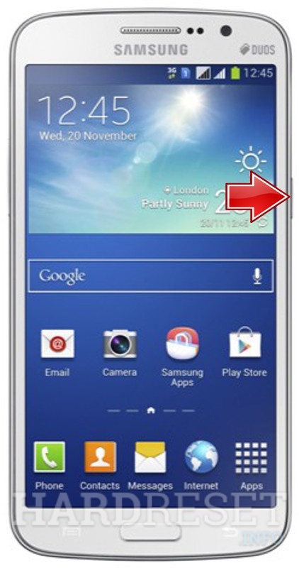 Hard Reset SAMSUNG G7105 Galaxy Grand 2 LTE