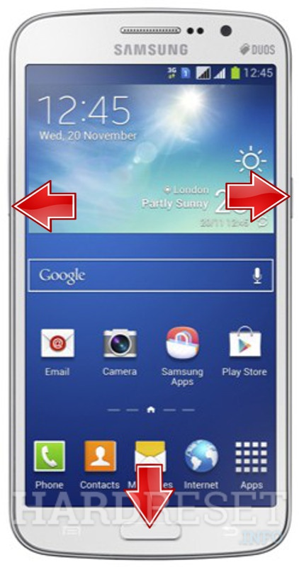 Factory Reset SAMSUNG G710 Galaxy Grand 2