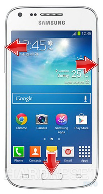 HardReset SAMSUNG G350 Galaxy Core Plus