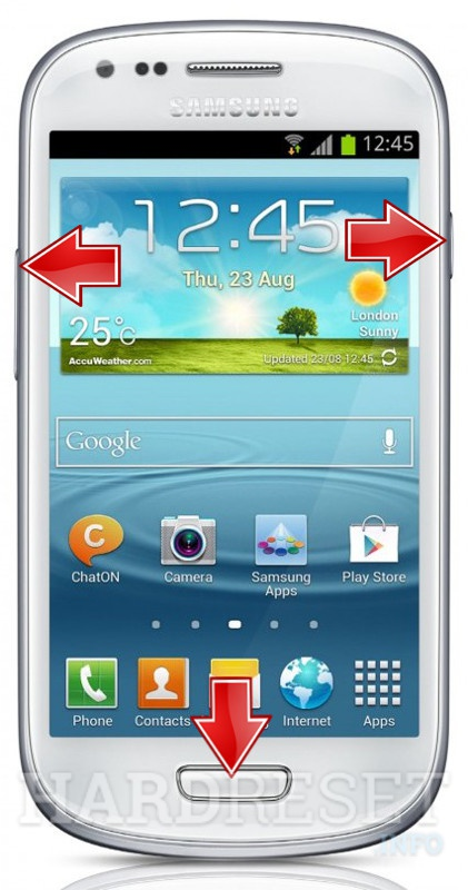 HardReset SAMSUNG I8200 Galaxy S III mini VE