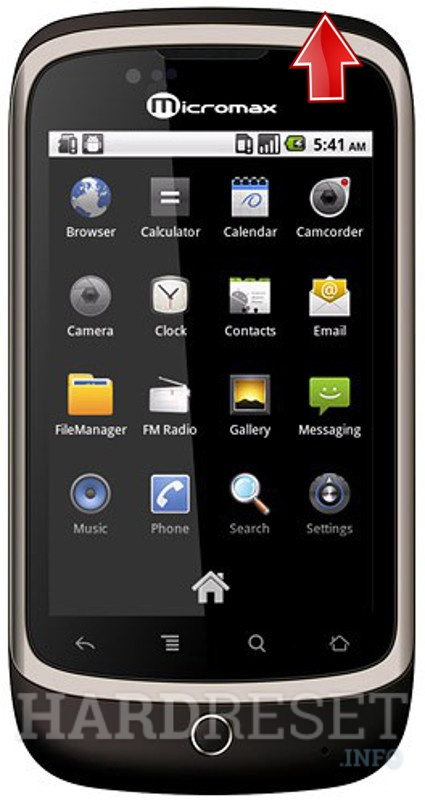 Hard Reset MICROMAX A70