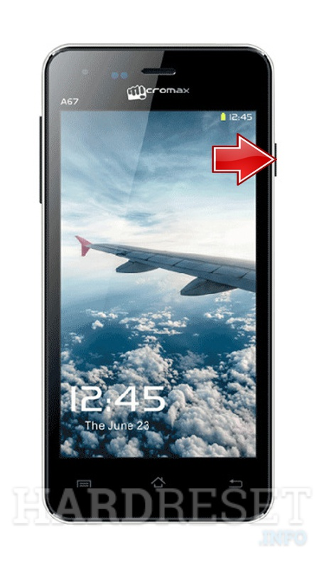 Hard Reset MICROMAX A76