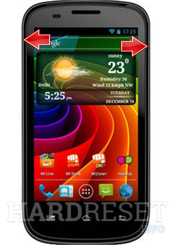 HardReset MICROMAX A89