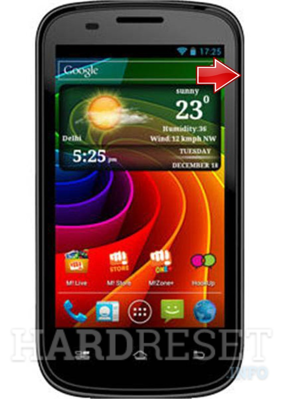 Hard Reset MICROMAX A89