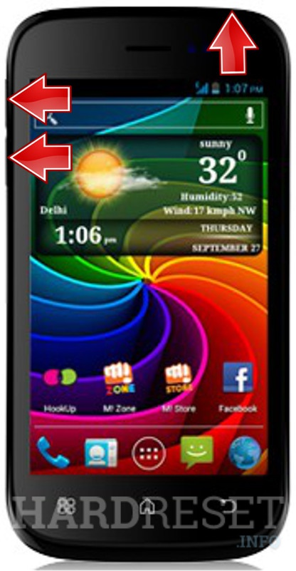 HardReset MICROMAX A68 Smarty