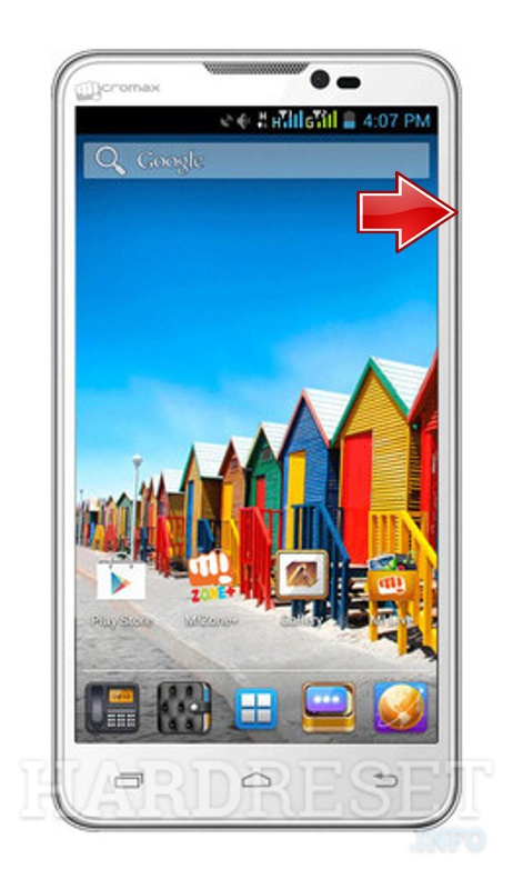 Hard Reset MICROMAX Micromax A111 Canvas Doodle