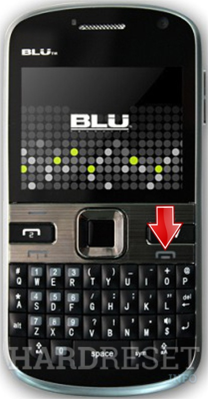 Remove screen password on BLU Texting 2 Go